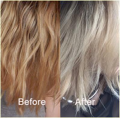 How to fix orange hair