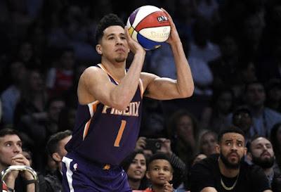 Devin Booker - Phoenix Suns - Antrenmanda 128 üçlük