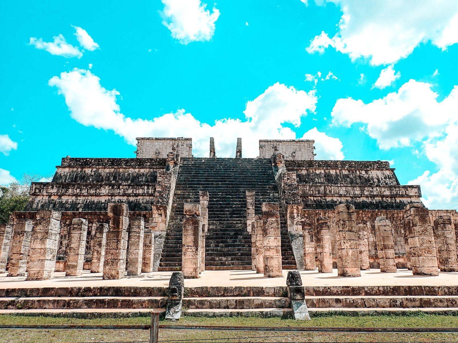 ancienne cité maya chichen itza