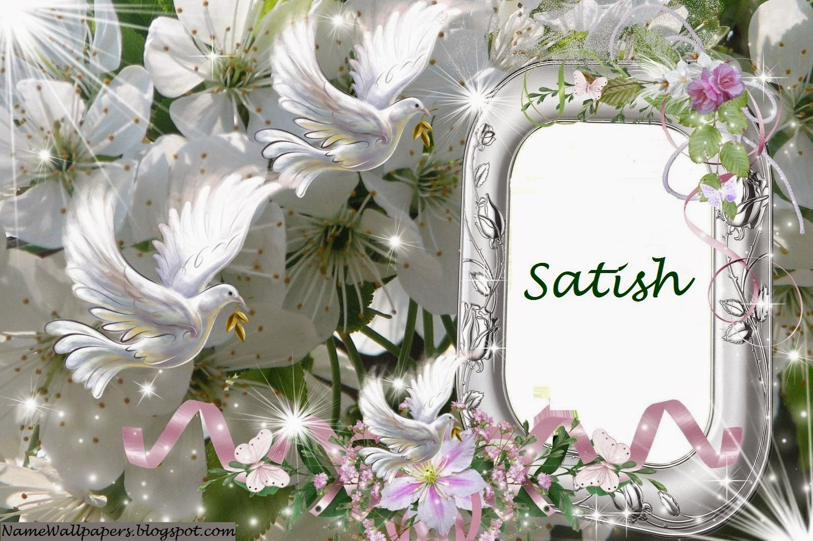 Satish name wallpapers satish name wallpaper urdu name - A and s name wallpaper ...