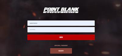 login akun point blank