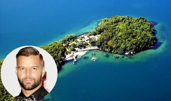 ricky martin : selebriti yang memiliki pulau pribadi