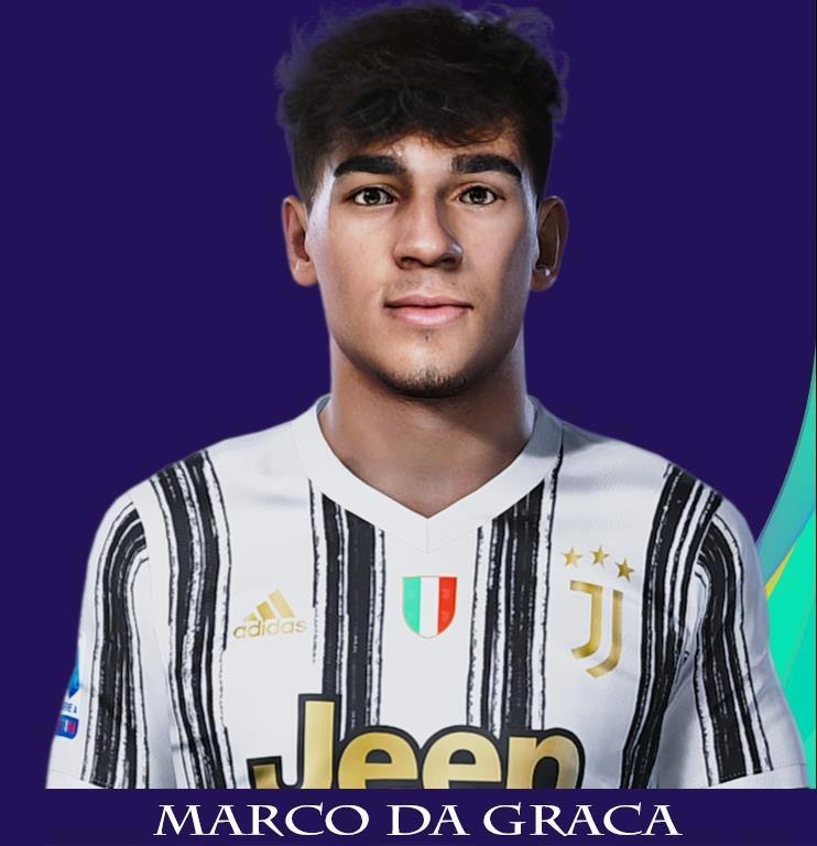 PES 2021 Faces Marco Da Graca - Kazemario Evolution