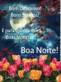 Mensagem de Boa Noite Feliz Quinta Feira