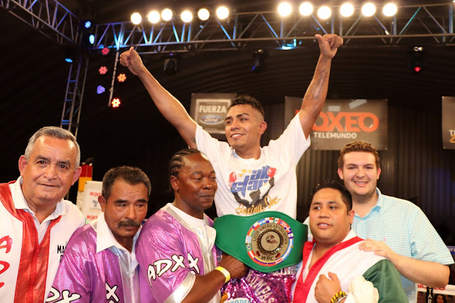 Mauricio Pintor defeated Diego Cruz