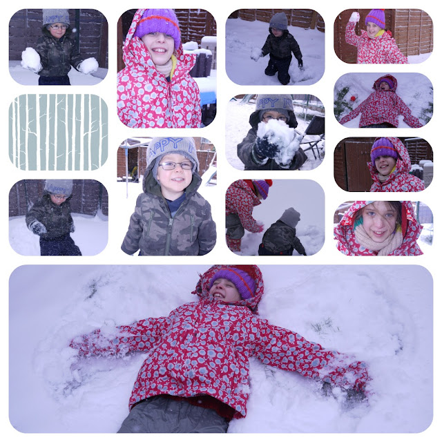 snow angels, snow day