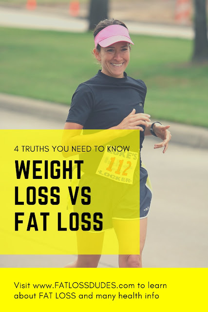 WEIGHT LOSS VS FAT LOSS: 4 Truths You Need To Know (Right Now!)