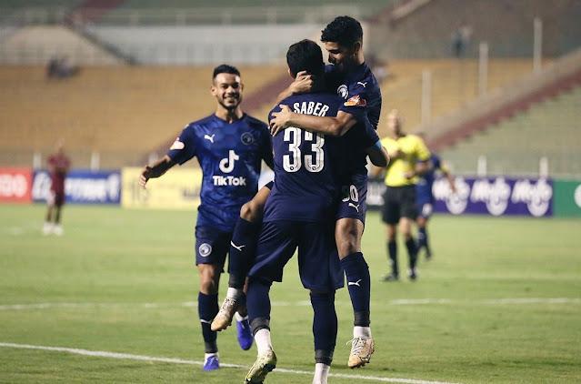 اهداف مباراة بيراميدز ومصر المقاصة (5-0) الدوري المصري