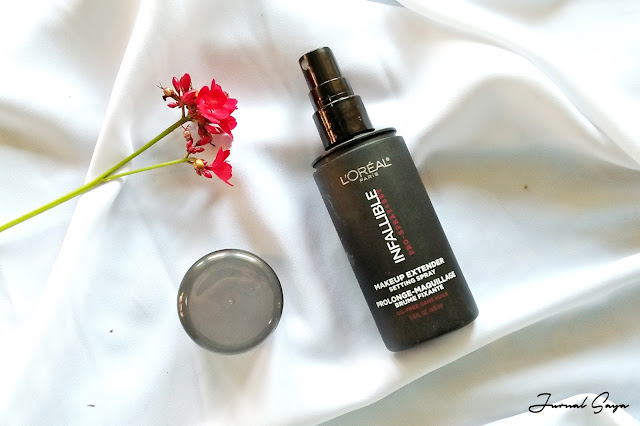 review loreal paris infalliable setting spray