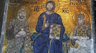 Santa Sofía, mosaico Bizantino