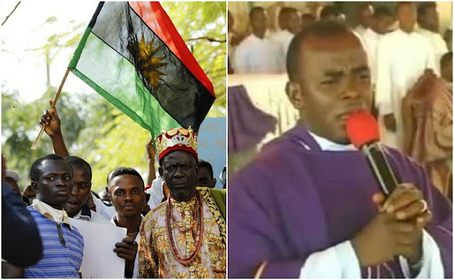 BIAFRA: Focus On Your Pure Water And Olive Oil - IPOB Tells Mbaka