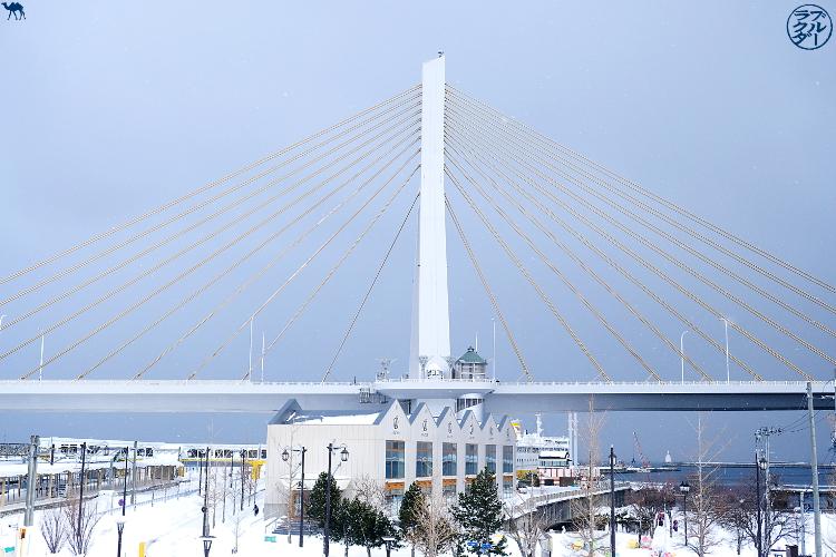 Le Chameau Bleu - Pont de Aomori dans le Tohoku Japon