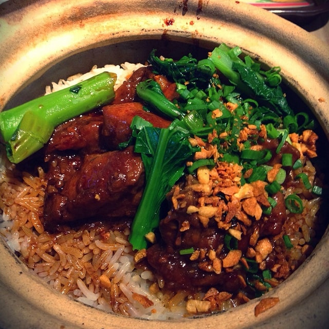 Claypot Chicken Rice I Salted Fish