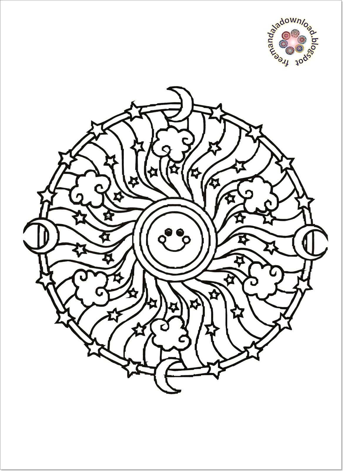 schöne mandalas malvorlagen zum drucken und ausmalen pdf