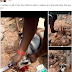 MAN SHARES PHOTOS OF HIM DO SACRIFICE IN HIS SHRINE ON FACEBOOK (PHOTO)