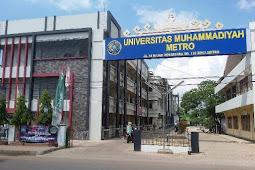 Daftar Fakultas dan Jurusan UM Metro Universitas Muhammadiyah Metro Lampung