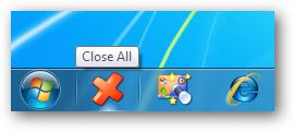 اغلاق جميع التطبيقات المفتوحة بضغطة واحدة عن طريق CloseAll