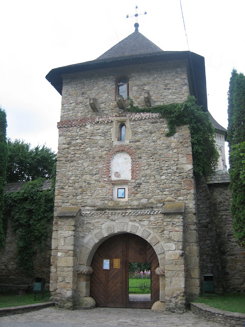 Monasterio Moldovita, puerta de entrada