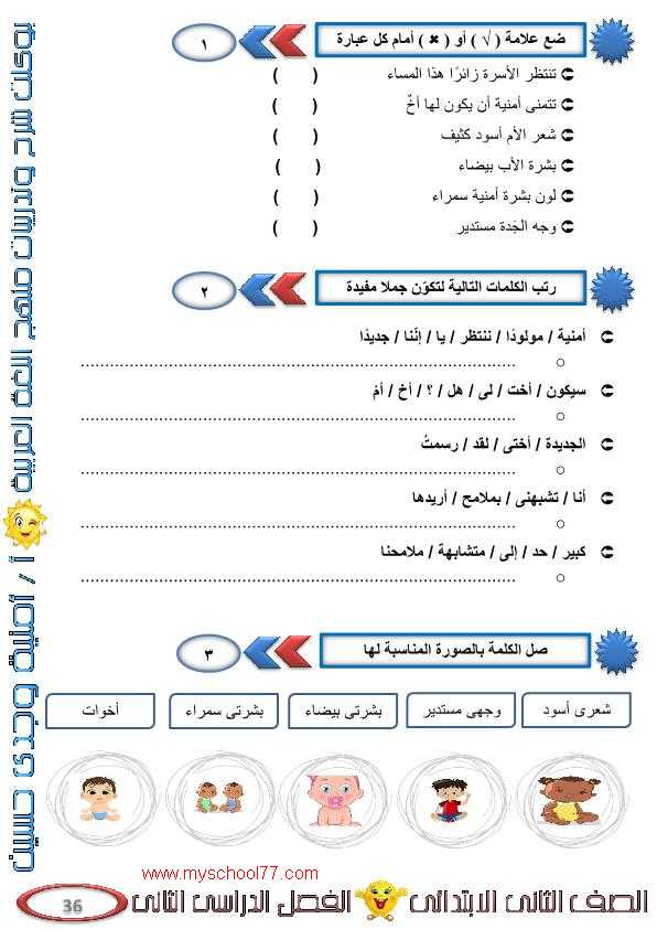 شرح درس مولودنا الجديد عربى تانيه ابتدائى ترم ثانى 2020- موقع مدرستى