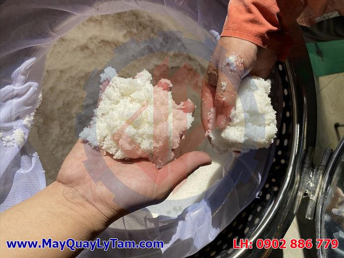Máy ly tâm đường giúp làm khô sản phẩm nhanh chóng và triệt để