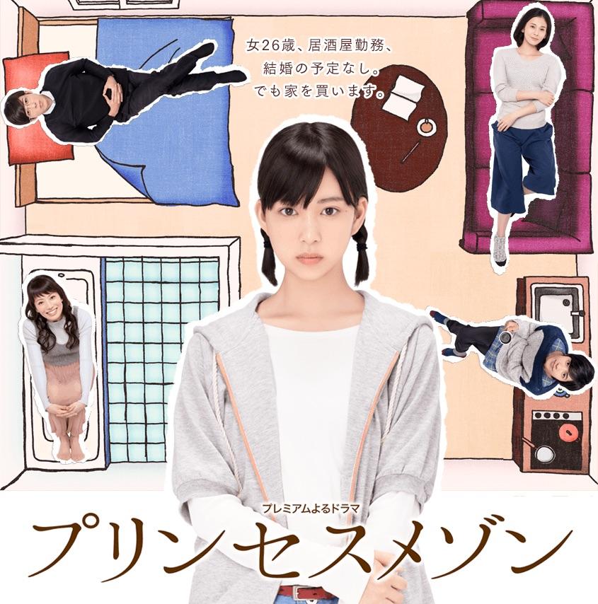 Sinopsis Drama Princess Maison {Drama Jepang}