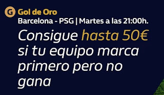 william hill promo Barcelona vs PSG 16-2-2021