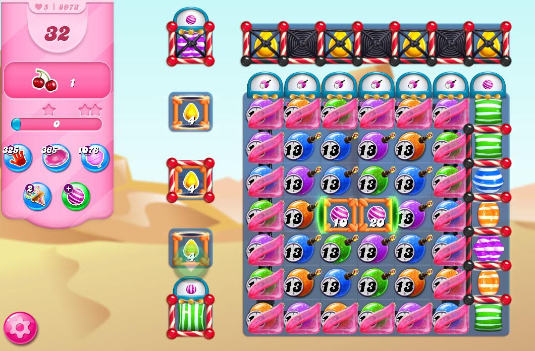 Candy Crush Saga level 8973