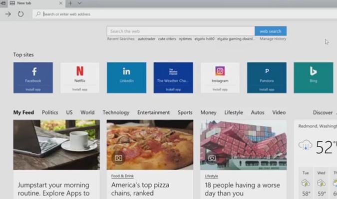 Web Browser Terbaik di Tahun 2019 - Microsoft Edge