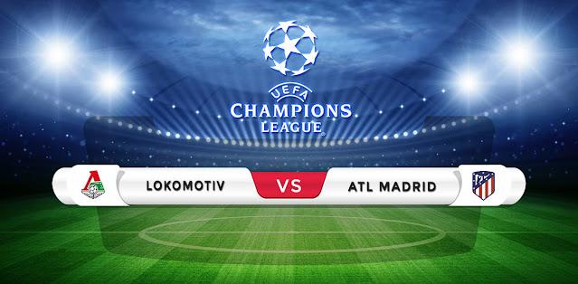 Lokomotiv Moscow vs Atletico Madrid Prediction & Match Preview
