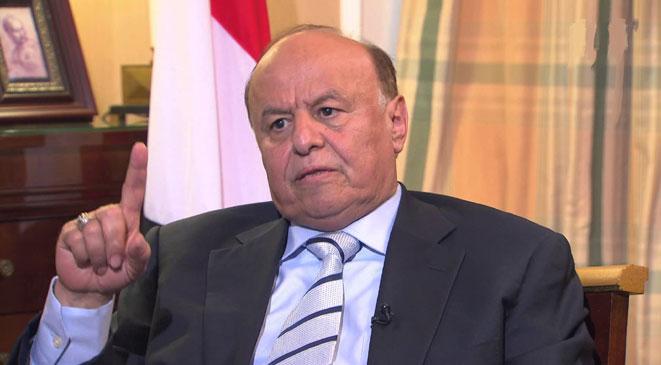 ورد الان الرئيس هادي يصدر قرارات جمهورية بتعيينات جديدة