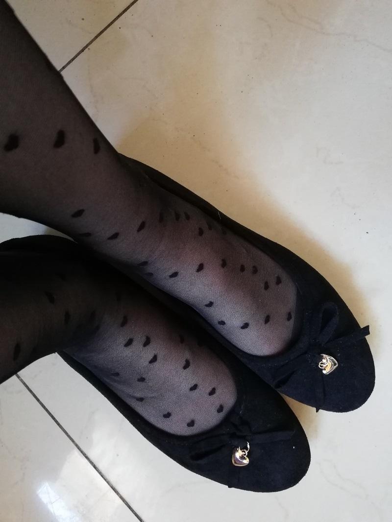 czarne balerinki z Jenny Fairy