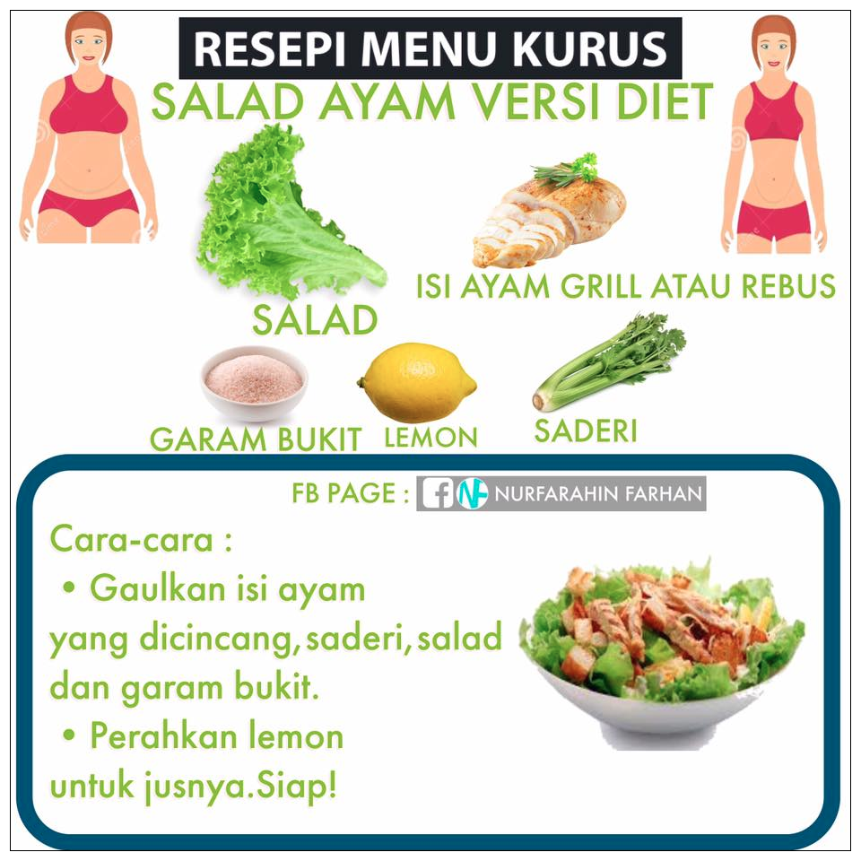 Detoks & Eat Clean; Resipi Tomyam Ayam Sihat