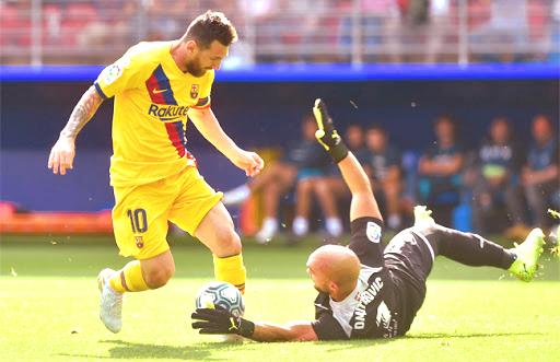 تعرف علي موعد مباراة برشلونة القادمة ضد إيبار بالدوري الإسباني