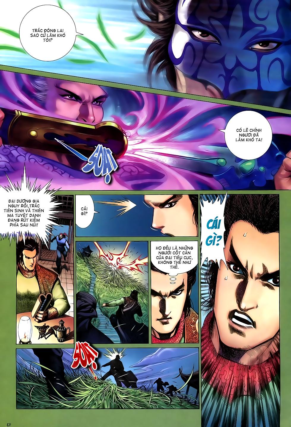 Anh hùng vô lệ Chap 16: Kiếm túy sư cuồng bất lưu đấu  trang 14