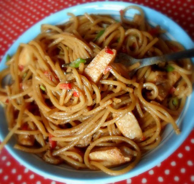Chicken & Sesame Noodles