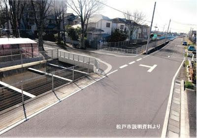 神明堀架橋CG図