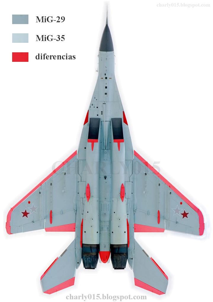 """واشنطن توافق على بيع 14 مقاتلة """"إف-16"""" لصالح سلوفاكيا  Mig-29%2Bvs%2Bmig-35%2Bcompar%2Bdif"""