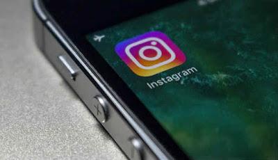 Ilustrasi aplikasi Instagram