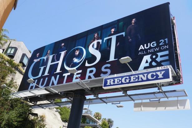 Ghost Hunters revival billboard