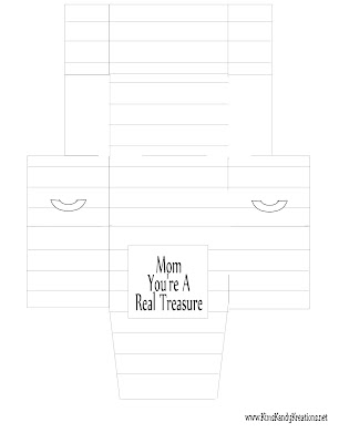 Mothers Day Printable Treasure Box