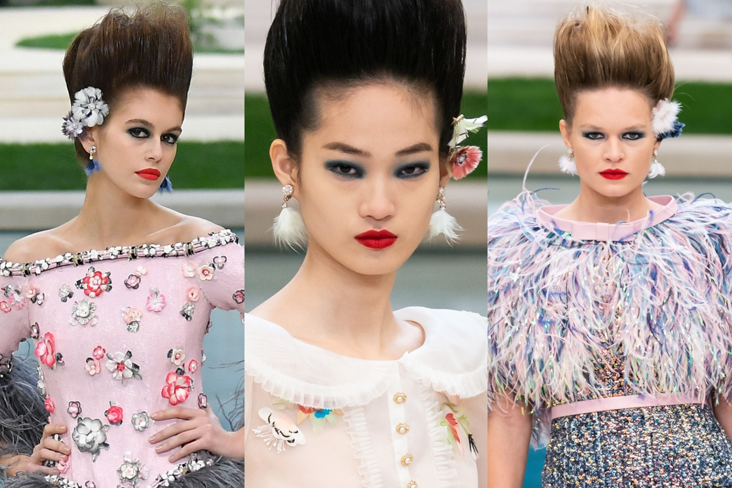 Makeup at The Spring-Summer 2019 Haute Couture Show by Chanel