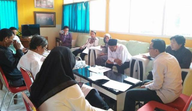 KPU melakukan koordinasi untuk rapat pleno