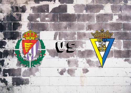 Real Valladolid vs Cádiz  Resumen