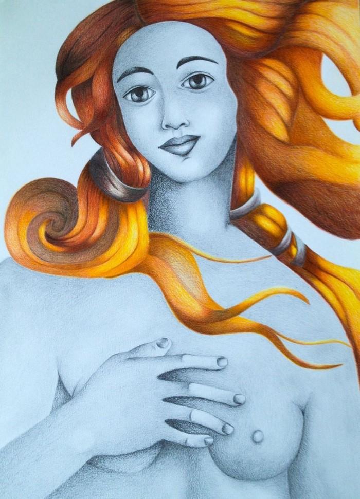 Греческий художник. Christina Bilbili