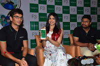 Bollywood Actress Adah Sharma Pos in White Printed Short Dress at OPPO F3 Plus Selfie Expert Mobile Launch .COM 0091.jpg