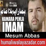 https://nohay.humaliwalayazadar.com/2020/05/mesum-abbasr-noha-ayyam-e-ali-2020.html