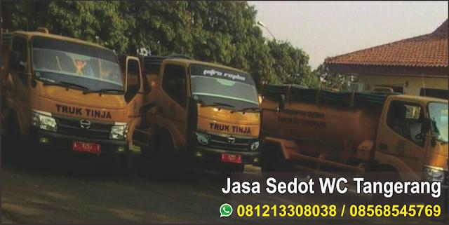 Jasa Sedot WC Tangerang -  081213308038 / 08568545769