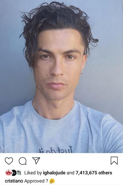 cristiano ronaldo latest haircut 2020