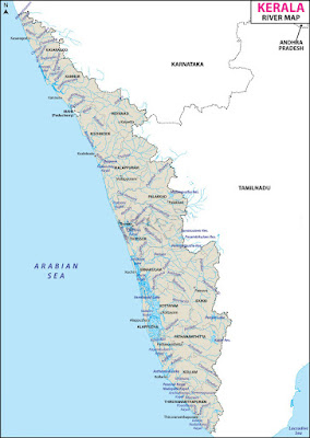 Rivers of Kerala - Part I