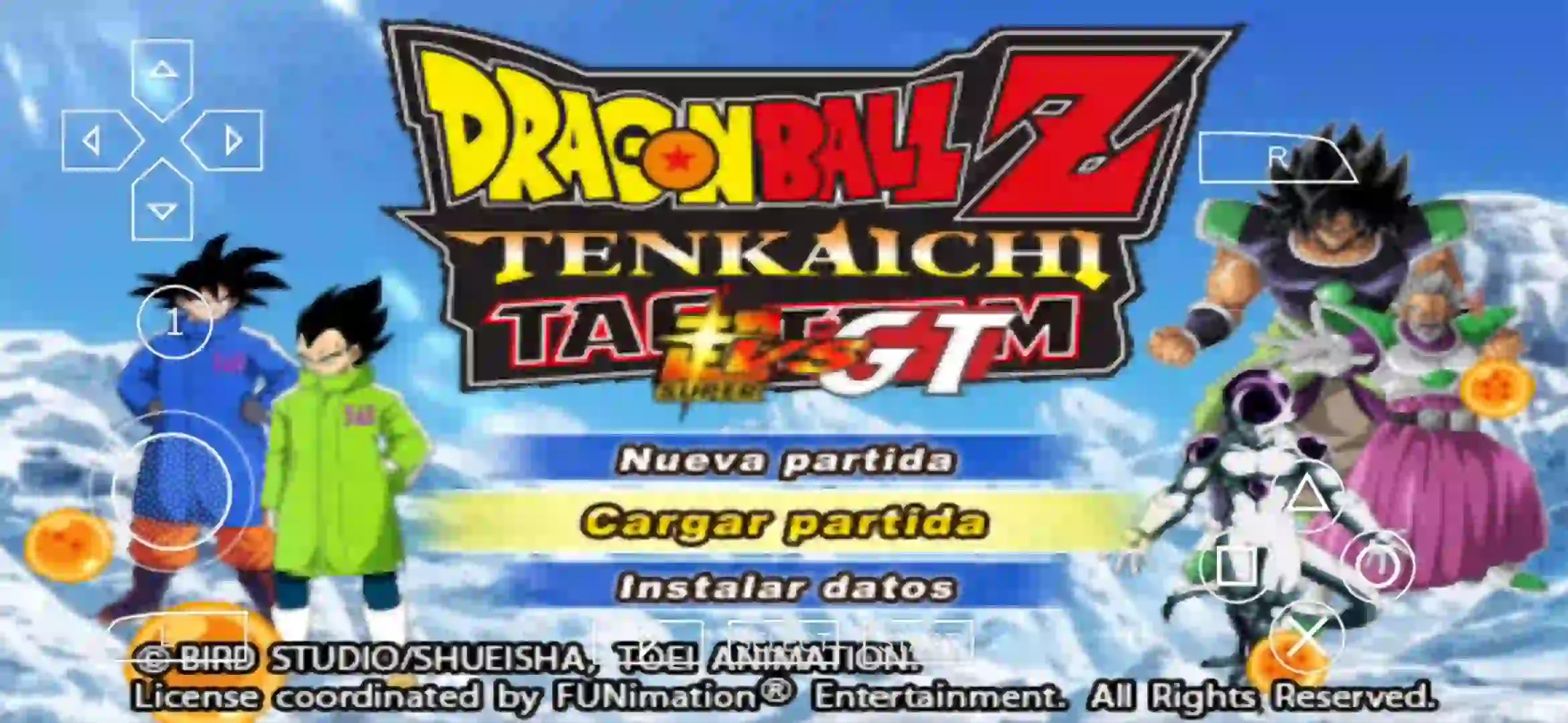 Dragon Ball Super Movie Broly PPSSPP ISO Download